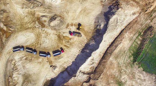 2017-07-20 d. buvo sertifikuota Pakupelkio smėlio karjere gaminama produkcija.